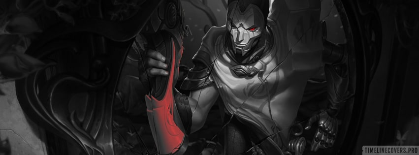 Video Game League of Legends Jhin Classic Skin Facebook cover photo