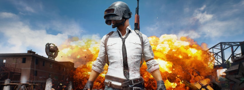 Video Game Playerunknowns Battlegrounds Explosion Facebook cover photo
