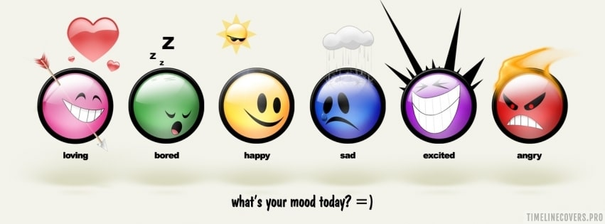 What is Your Mood Today Facebook cover photo