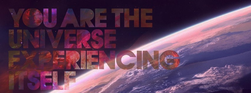 You are The Universe Facebook cover photo