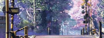 5 Centimeters Per Second Makoto Shinkai Facebook Cover
