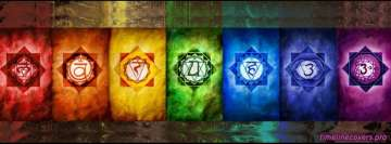 7 Chakras Facebook Background TimeLine Cover
