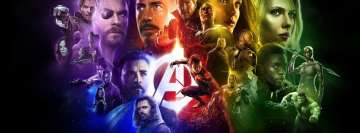 Avengers Infinity War Marvel Facebook Cover