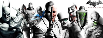 Batman Arkham City Facebook Cover