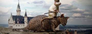 Cat Mouse Hunting Dragons Facebook Banner