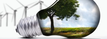 Green Energy Facebook Background TimeLine Cover