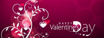 Happy Valentines Day 14 February Facebook Cover-ups