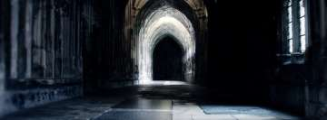 Harry Potter Hogwarts Castle Dark Passage Facebook Background