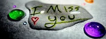I Miss You Love Facebook Cover
