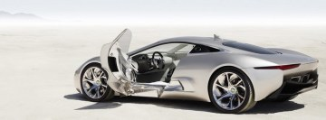 Jaguar C X75 Concept Car Facebook Banner
