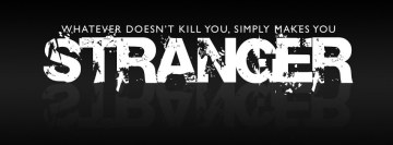 Joker Quote Stranger Facebook Cover Photo