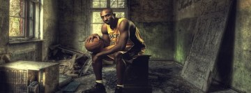 Kobe Bryant in Old Castle Facebook Cover