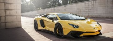 Lamborghini Aventador LP 750 Facebook Cover Photo