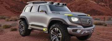 Mercedes Benz Ener G Force Concept Facebook Cover