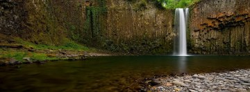 Natural Waterfall Facebook Banner