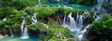 Plitvice Lake Croatia Facebook Cover-ups