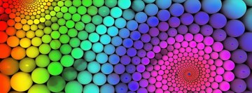 Rainbow Molecules Facebook Cover