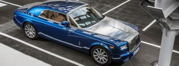 Rolls Royce Phantom Coupe Facebook cover photo