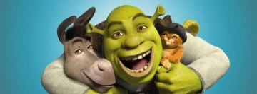 Shrek Donkey and Pussi