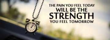 Strength Thought Facebook Cover Photo 851 X 315