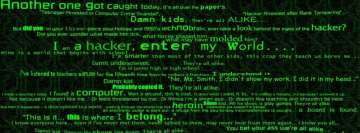 A Hacker Background Facebook Cover Photo