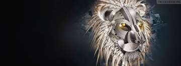 Abstract Lion Artwork