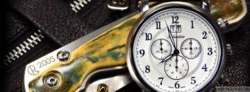 Adriatica Swiss Watch for Men Facebook Cover-ups