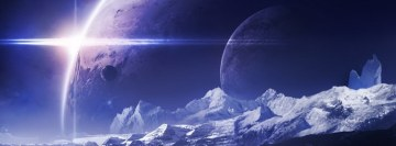 Alpha Centauri Unknown Moon Facebook cover photo
