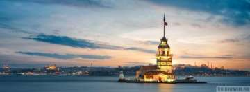 Amazing Istanbul Lighthouse Facebook Cover