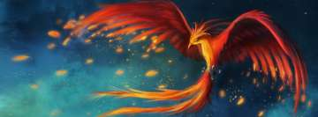 Amazing Phoenix Art Facebook Background TimeLine Cover