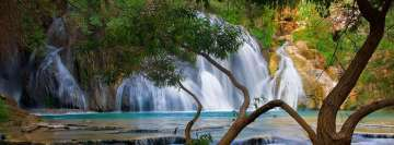 Amazing Waterfall Facebook Cover