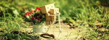 Amazon Danbo in Garden Facebook Cover