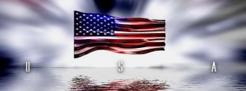 American Flag Facebook Wall Image