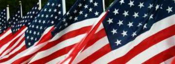 American Flag Memorial Day Facebook Background