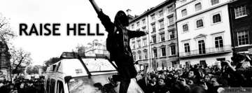 Anarchy Raise Hell Facebook Banner