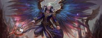 Angel Warrior Fantasy Art Facebook Wall Image