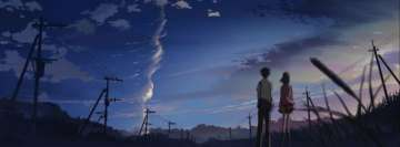 Anime 5 Centimeters Per Second Fb Cover