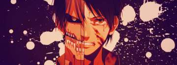 Anime Attack on Titan Shingeki No Kyojin Eren Titan Facebook Cover