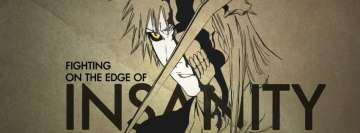 Anime Bleach Ichigo Kurosaki Facebook cover photo
