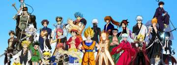 Anime Crossover Heroes Fb Cover