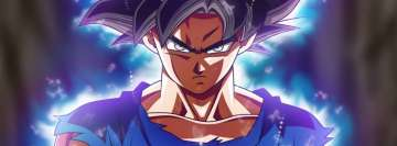 Anime Dragon Ball Super Blue Aura Fb Cover