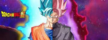 Anime Dragon Ball Super Facebook Cover Photo