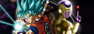 Anime Dragon Ball Super Goku and Freeza Fb Cover