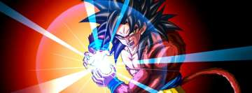 Anime Dragon Ball Super Goku Ssj4 Facebook Banner