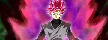 Anime Dragon Ball Super Saiyan Rose Facebook Banner