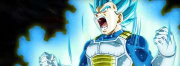 Anime Dragon Ball Super Vegeta Facebook Cover