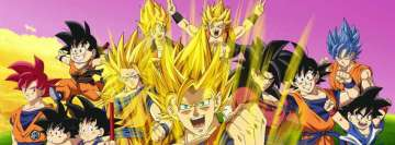 Anime Dragon Ball Z Poster Facebook Cover Photo