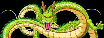 Anime Dragon Ball Z Shenron Facebook Background TimeLine Cover