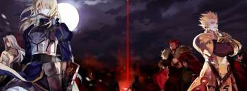 Anime Fate Zero Facebook Background TimeLine Cover