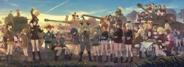 Anime Girls Und Panzer All The Girls